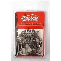 Captain 5023 inox klipsli fırdöndü