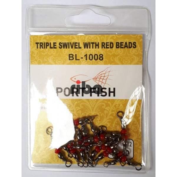 Portfish BL-1008 10X12 Üçlü Fırdöndü