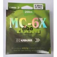 Kabura mc-6x 200m multicolor