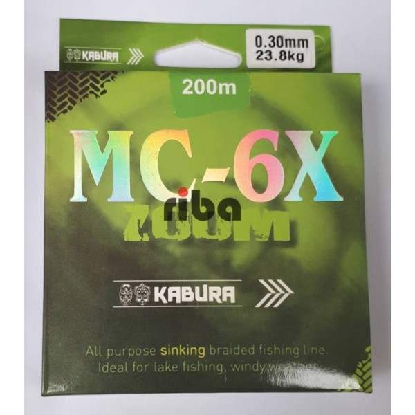 Kabura mc-6x 200m multicolor