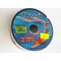 MUSTAD X170 0.35 MM  - 1000M MAKARA MİSİNA