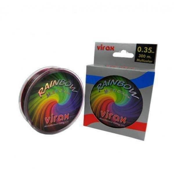 Virax rainbow 0.35mm 300m misina