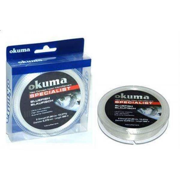 Okuma Bluefish 300 m Makara 0,40 mm Olta Misinası
